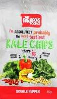 RAWLICIOUS KALE CHIPS DOUBLE PEPPER 40 G