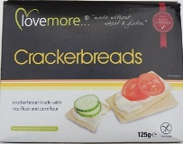LOVE MORE CRACKER BREADS 125 GM