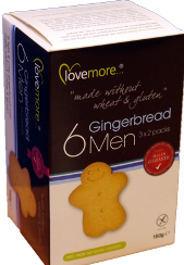 L/MORE GINGERBREADMEN 160G