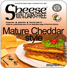 Sheese Mature Cheddar Style Block 200 G