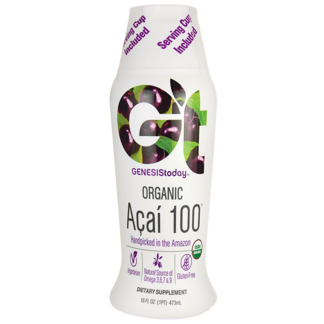 Genesis Today Organic Acai 100 473 ML