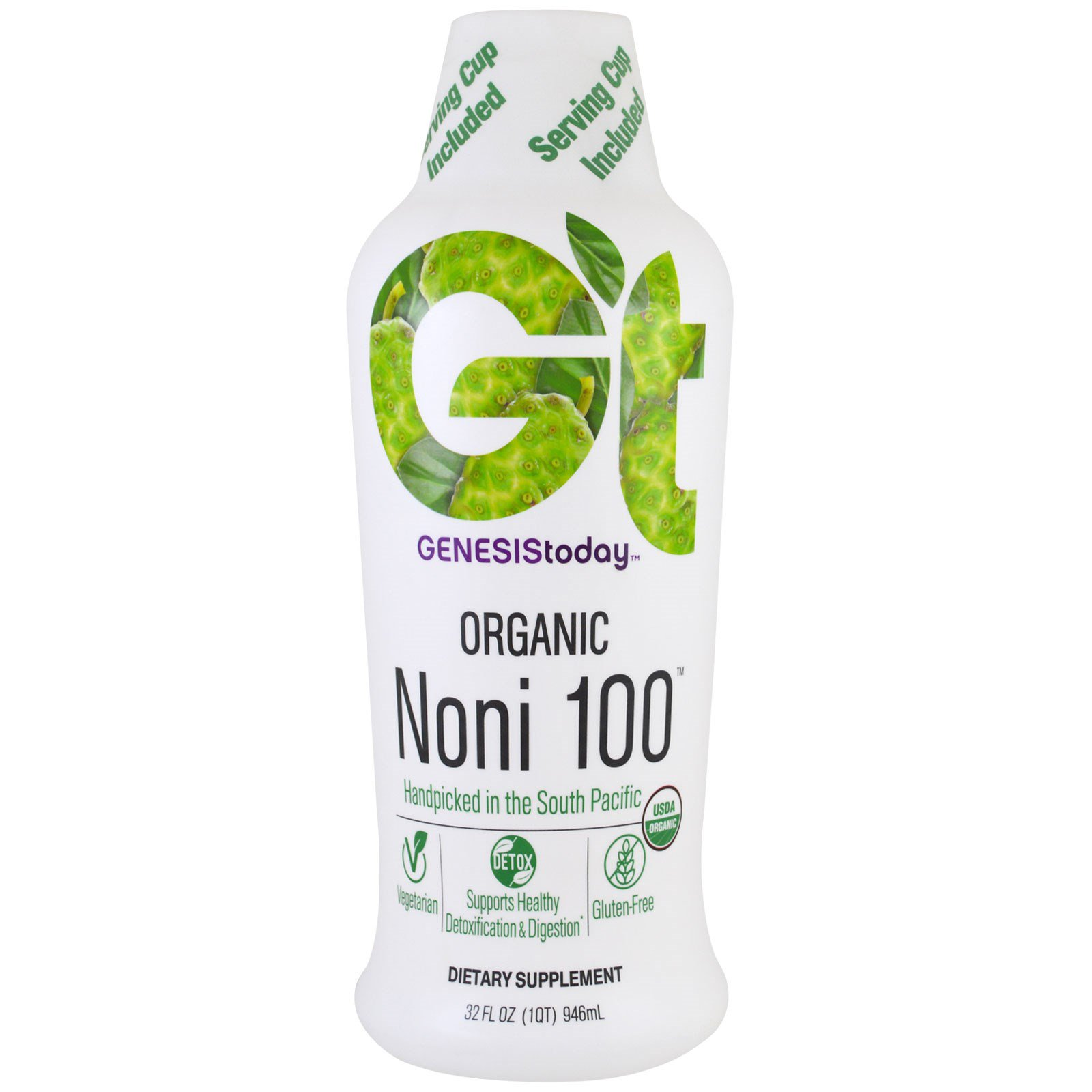 Genesis Today Organic Noni 473 ML