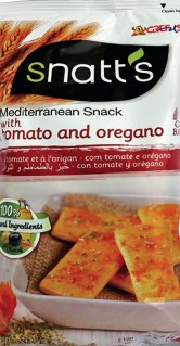 SNATTS MED SNACKS TOMATO & OREGANO 120 GM