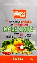 RAWLICIOUS KALE CHIPS THAI CHILLI 40 G - Click Image to Close