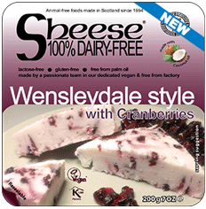 Sheese Wensleydale Style With Cranberries 200 G