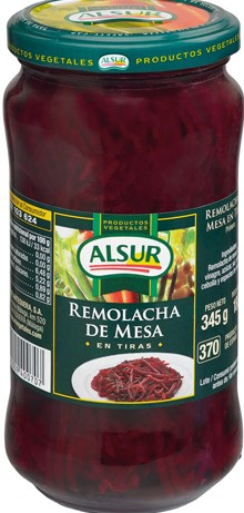 ALSUR SLICED BEETROOT 345 GM
