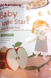 NICK SNACKS BABY APPLE STARS 30 GM
