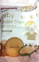 NICK SNACKS BABY COOKIE STARS 30 GM