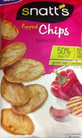 SNATTS POPPED CHIPS BARBEQUE 75 GM