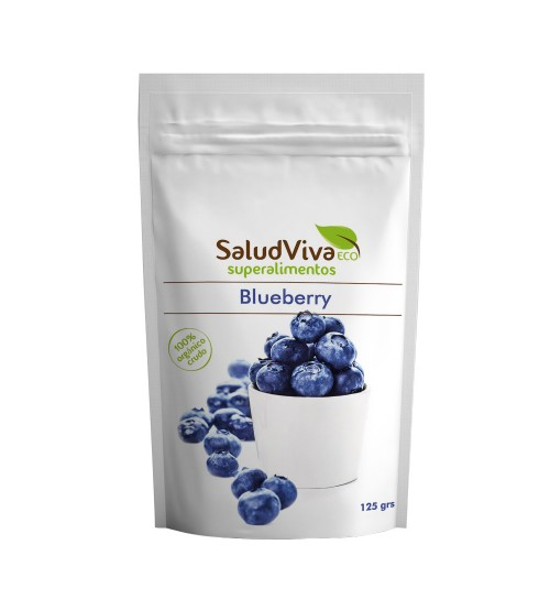 SaludViva Organic Blueberry Powder 125 gm