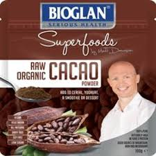 BIOGLAN SUPERFOODS CACAO POWDER 100 GM