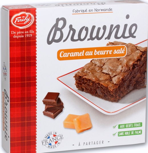 Forchy Caramel Brownie 285 G