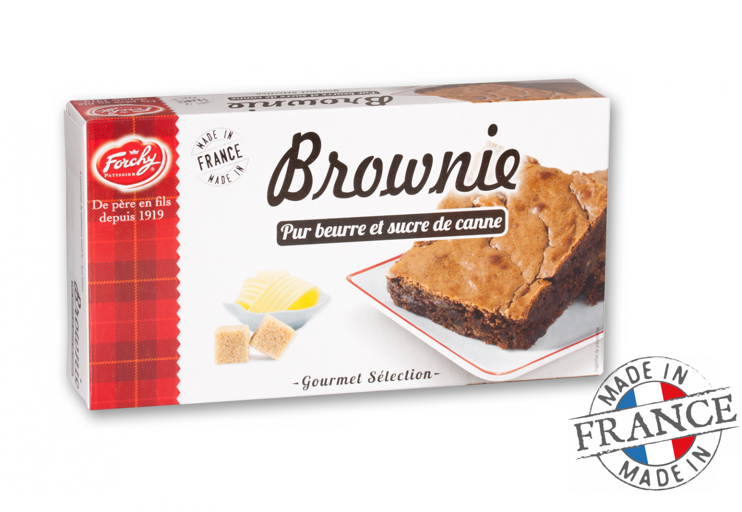 Forchy Brownie Pure Butter 170 G