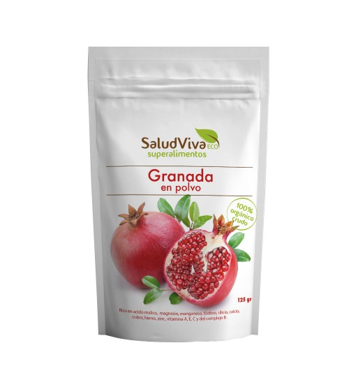 SaludViva Organic Pomegranate Powder 125 gm