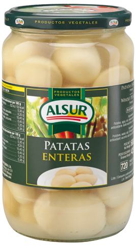 ALSUR WHOLE POTATOES JAR 680 GM