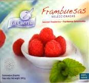 LA CUERVA RASPBERRIES 300 GM