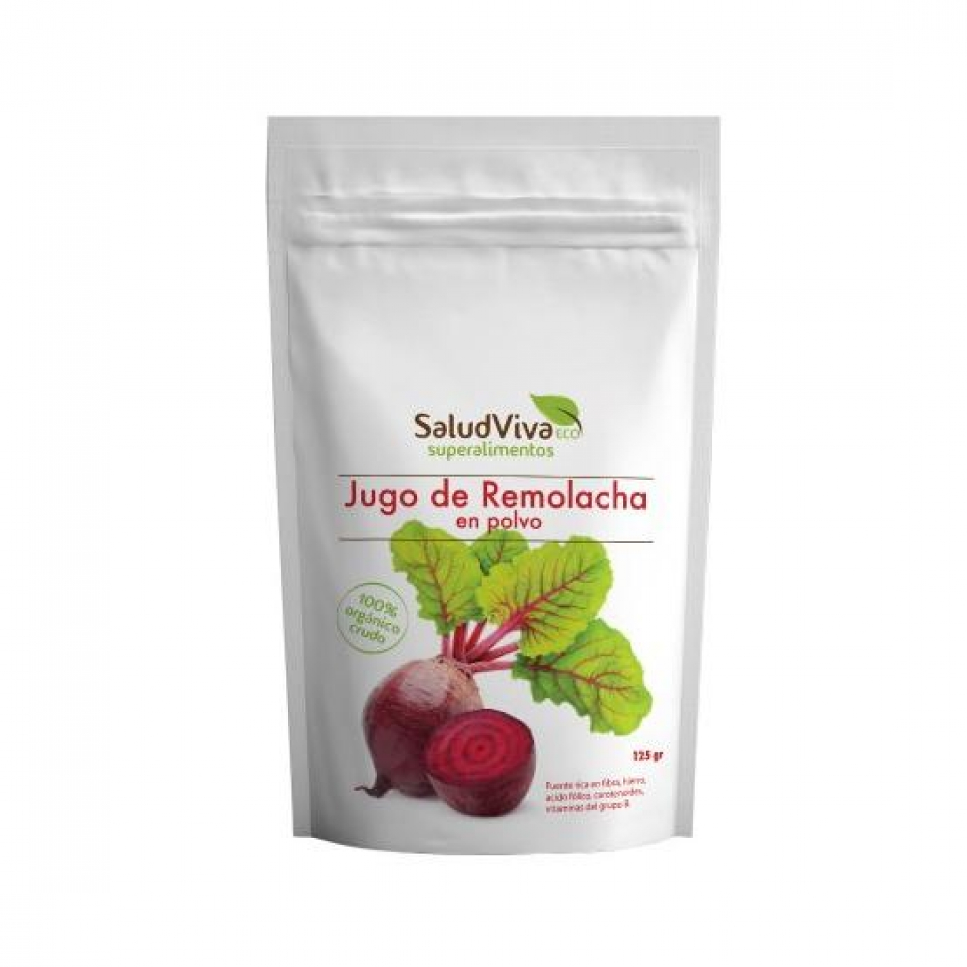 SaludViva Organic Beetroot Powder 125 gm