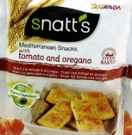 SNATTS MED SNACKS TOMATO & OREGANO 35 GM