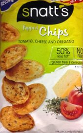 SNATTS POPPED CHIPS TOMATO,CHSEE & OREGANO 75 GM